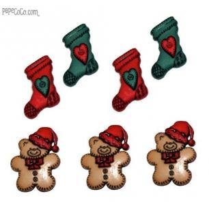 Botones Navidad